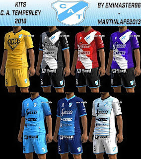 Descarga Kits Club Atletico Temperley 2016 Pes 2013