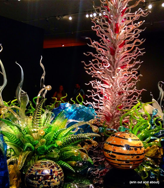 {Erin Out and About} Chihuly Exhibit at the ROM