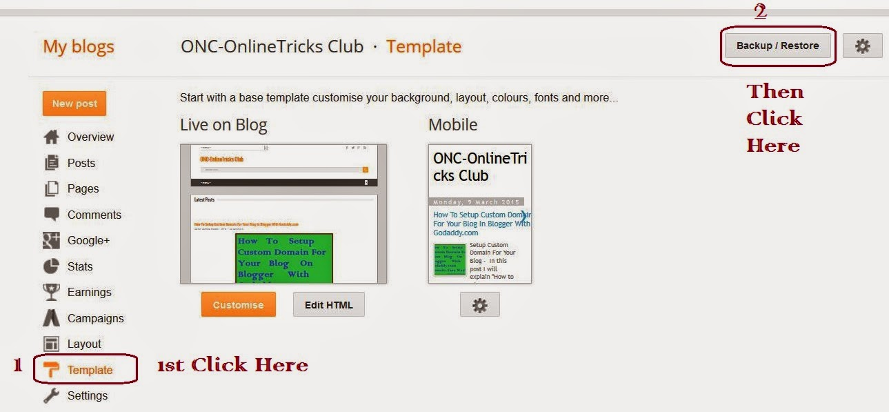 upload-new-template-in-blogger-blog-2018