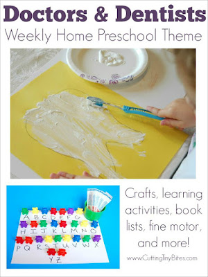 Doctors And Dentists Preschool Theme Week Ideas