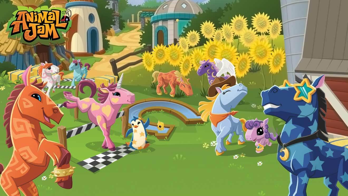 Animal jam spirit blog glitchy portal - Animal jam desktop backgrounds ...