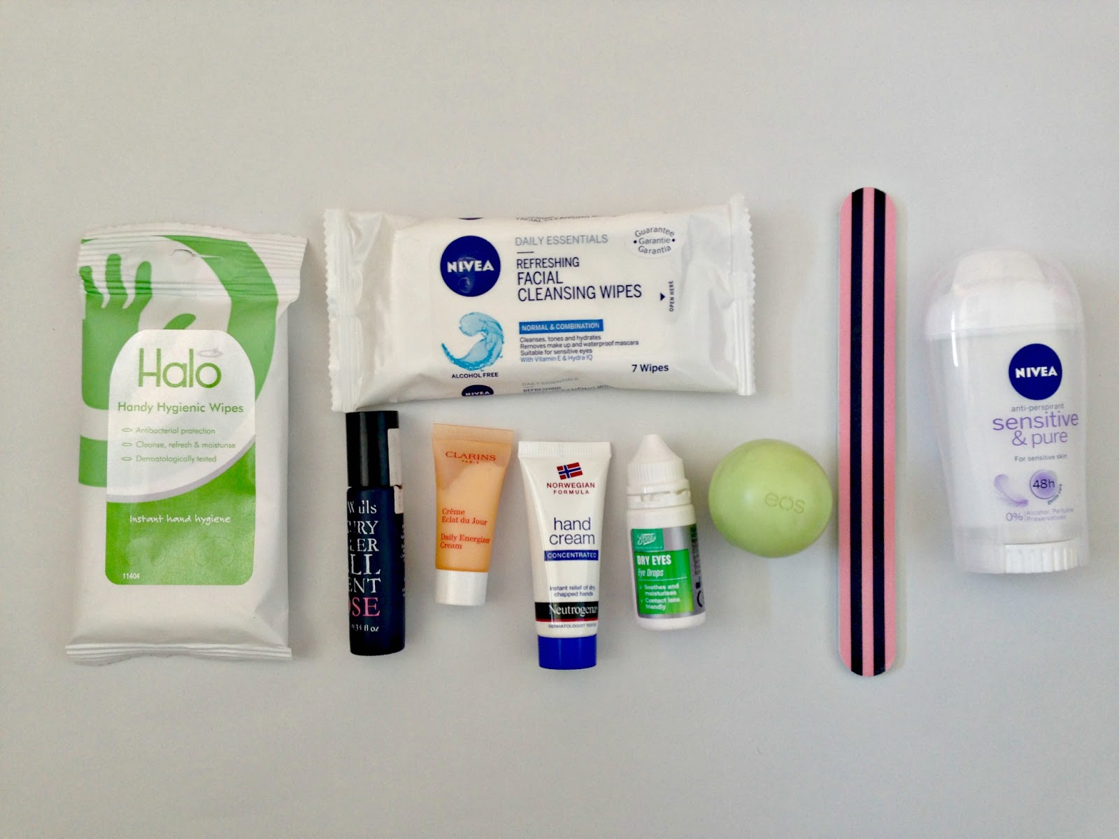 in flight beauty essentials