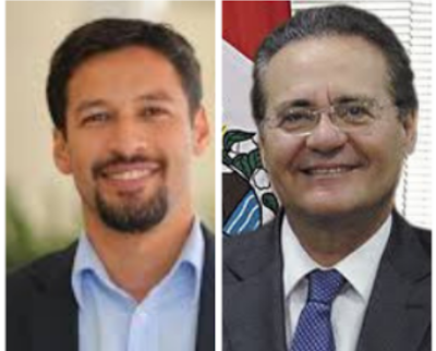 Rodrigo Cunha e Renan Calheiros são eleitos senadores por Alagoas