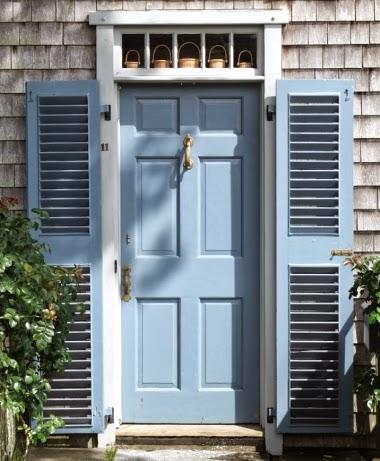 Nantucket front door