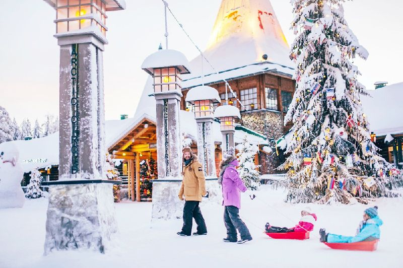 5-Day Finnish Lapland Christmas Vacation Package