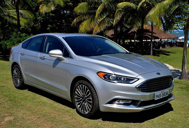 Novo Ford Fusion 2017 x Honda Civic