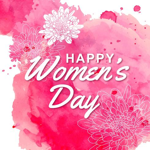 8 march International Women's Day free vector