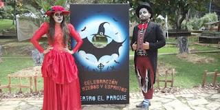 Celebración de Halloween en Teatro al Parque