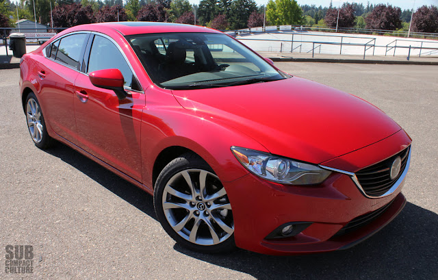 2014 Mazda6 i Grand Touring is a great looking car.
