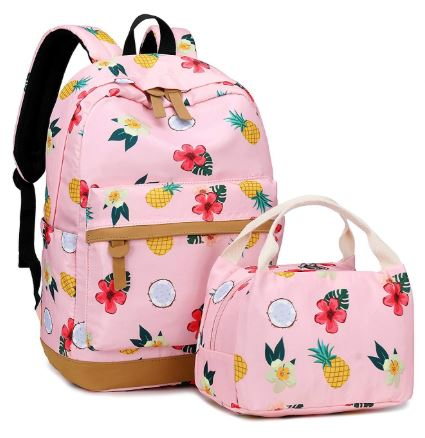 6613de173876 Los Angeles Coupon Diva: Cute School Backpack Set Casual Bookbag and ...