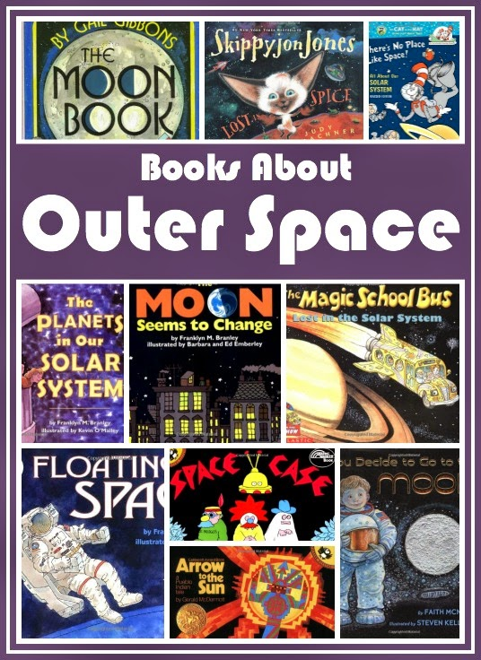 kids picture books about outer space