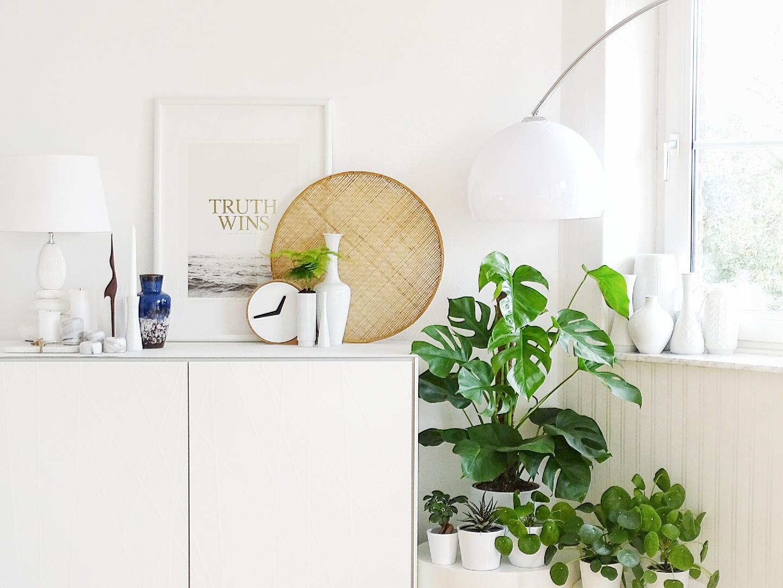 Mit Pflanzen dekorieren - 7 DIY-Nachmach-Ideen, Deko-Inspirationen und Rezepte für den Oktober - www.mammilade.blogspot.de