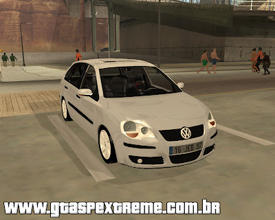 Vw Polo 2008 para grand theft auto