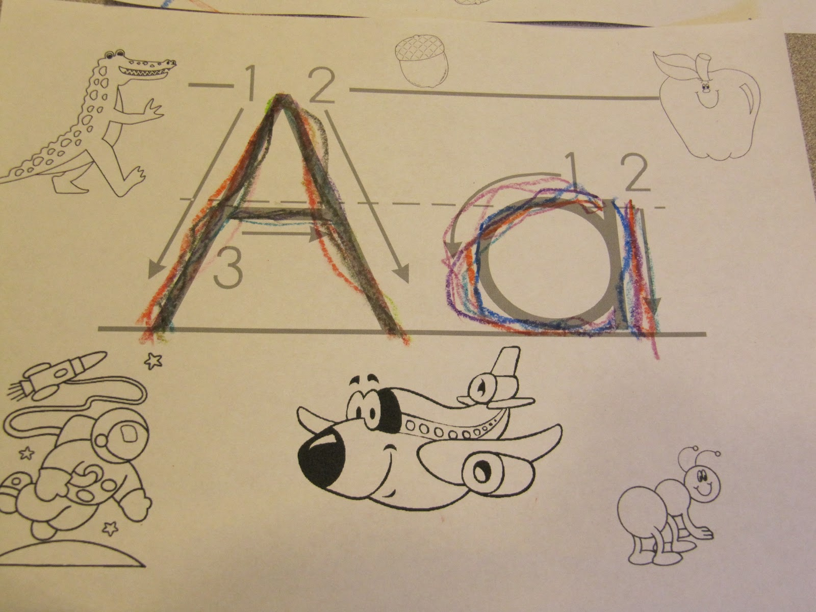 Adventures In Tutoring And Special Education Rainbow Writing Abc