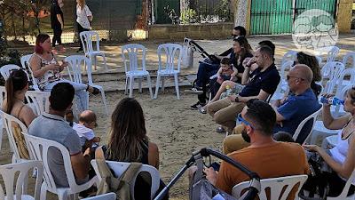 Charlas sobre tema de maternidad en el Parque de Consolación de Utrera, en la I Jornada #UtreraEnFamilia.