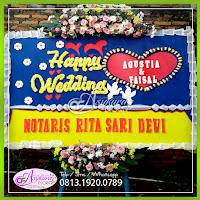 Toko Bunga Papan Wedding Jakarta Timur