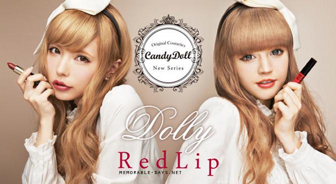CandyDoll Red Lips - Lipstick Lipgloss   Beauty, Fashion and ...