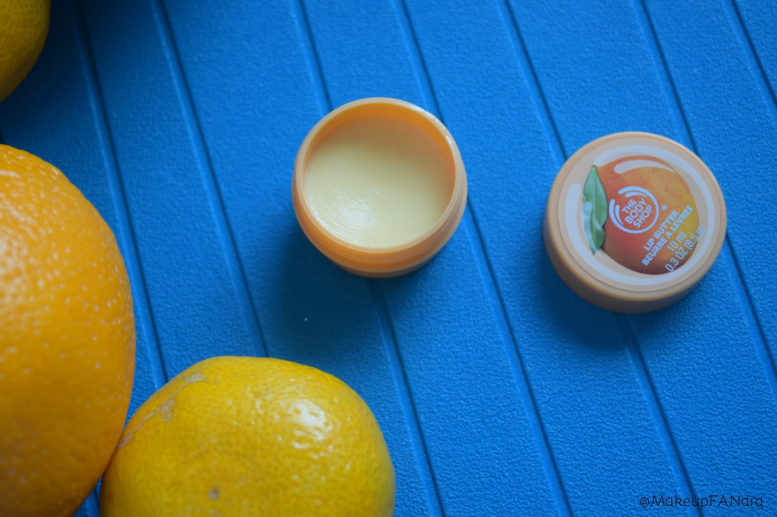 The body shop lip butter mango