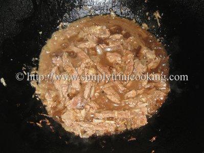 Beef in Hoisin Sauce