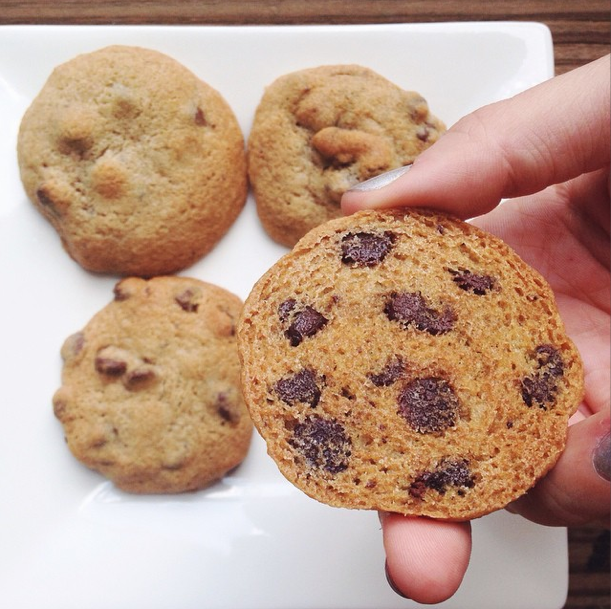 A perfect batch of chocolate chip cookies : Lindsay Eryn