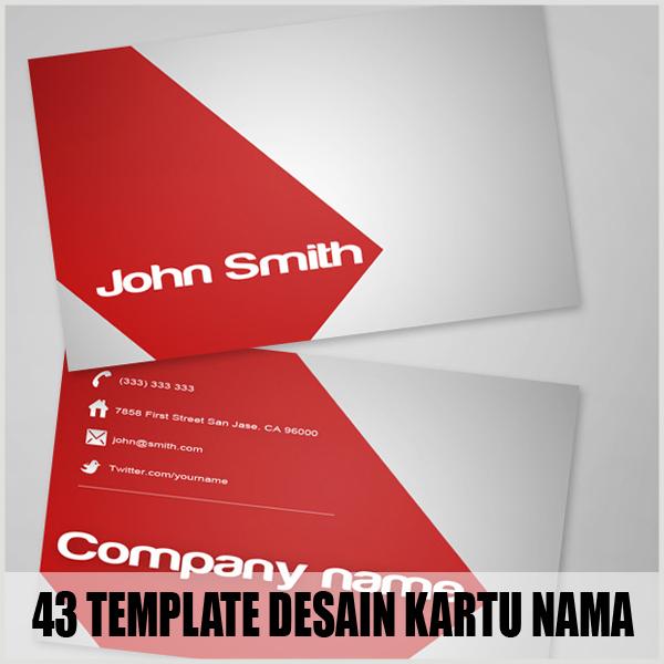 43 Template Desain Kartu Nama Bisnis Gratis Part 2 - Album ...