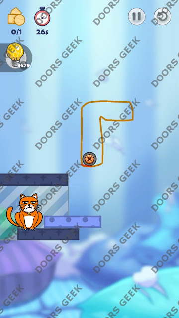 Hello Cats Level 43 Solution, Cheats, Walkthrough 3 Stars for Android and iOS