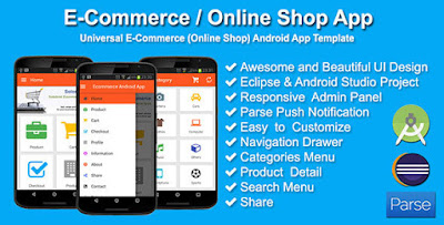 Free Download Aplikasi E-Commerce Online Shop Menggunakan Android - Gudang Coding