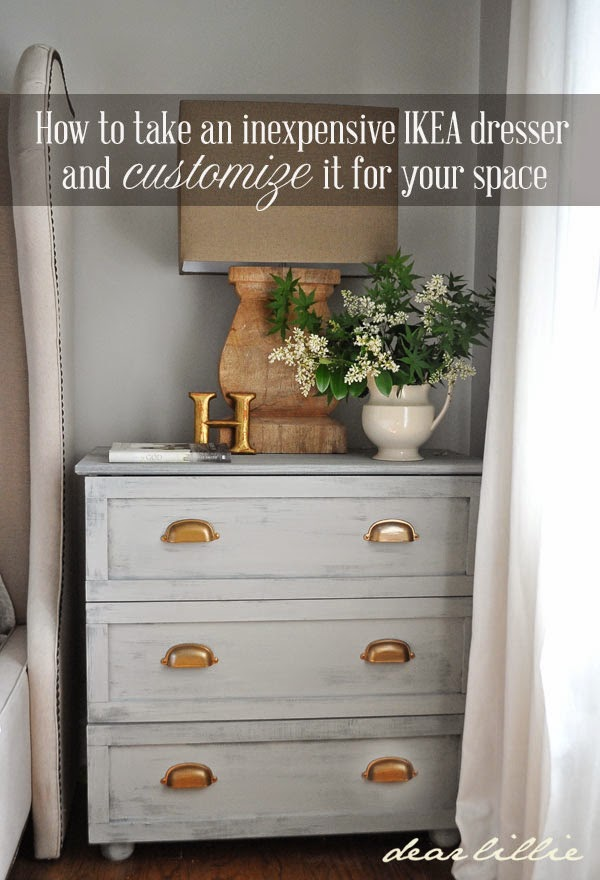 Simple Chic Ikea Tarva Makeover With Gel Stain Trim Mercury