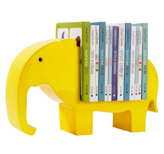 High Street Market Architectural Trim Wainscoting: High Street Market: Elephant Bookshelf