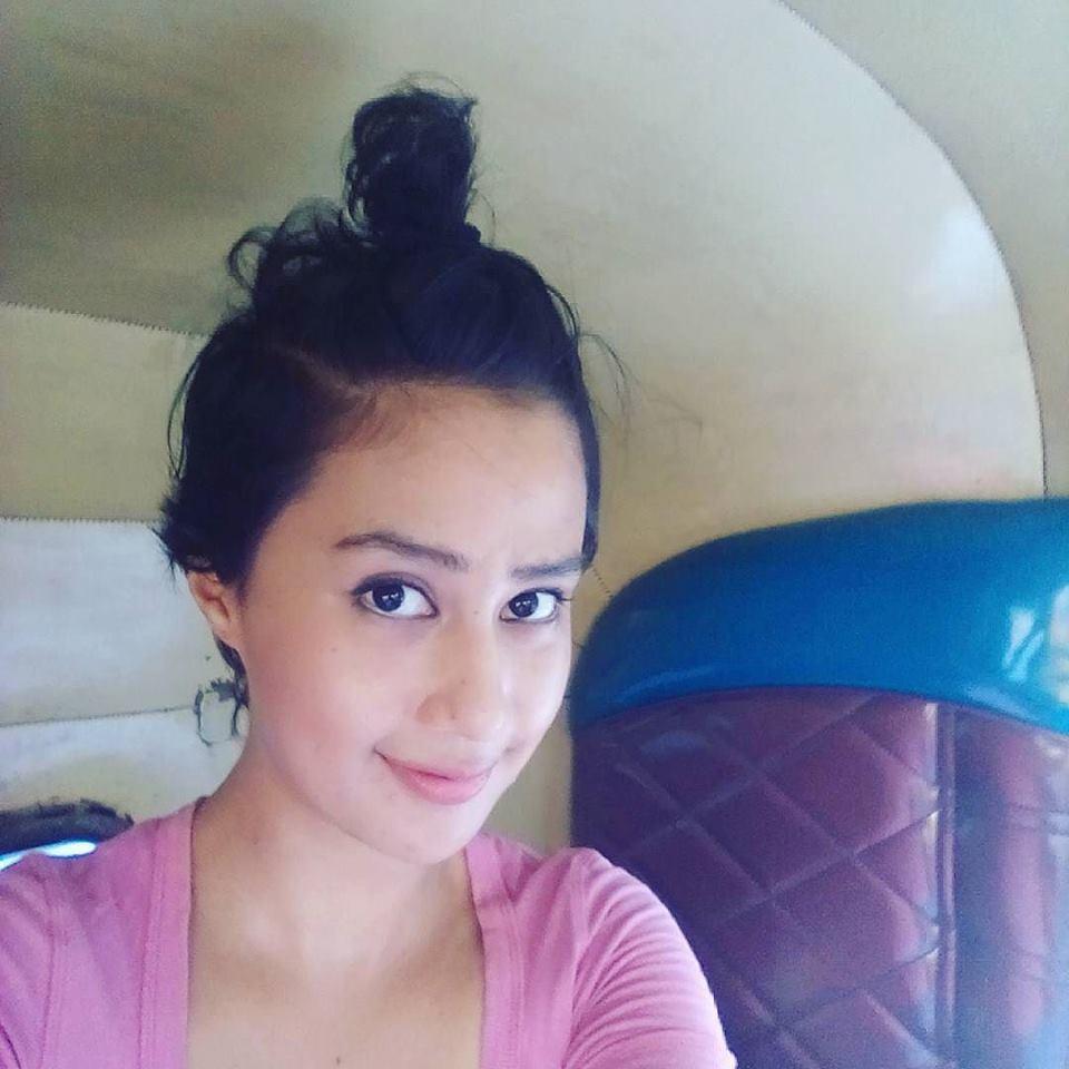 Sasha Chettri selfie still in auto