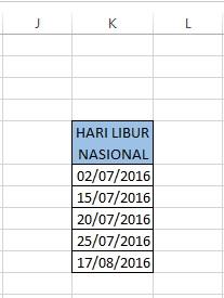 Tutorial Mudah Menghitung Hari Kerja Dengan Excel
