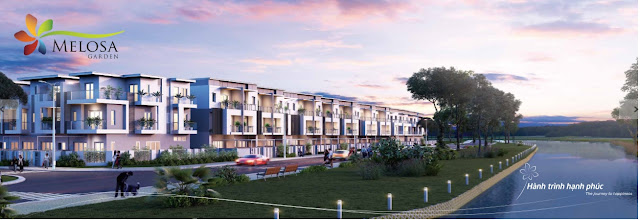 Dự án nhà phố biệt thự Melosa Garden Khang Điền