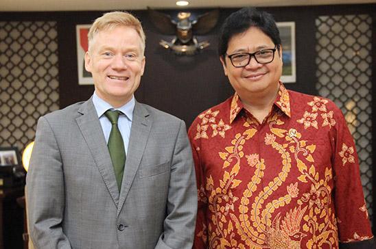 Menperin Dorong Percepatan Perundingan Indonesia-European Union Comprehensive Economic Partnership Agreement