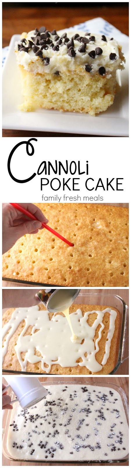 The Poke Cake rises to new heights.