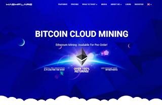 Hashflare io - Homepage