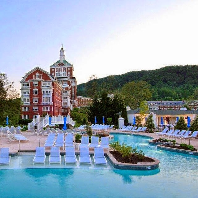 Omni Homestead in Hot Springs, Virginia