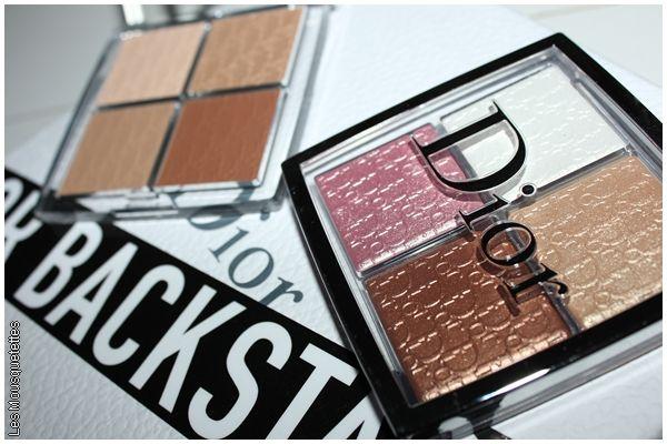 Collection Backstage de Dior : les palettes Glow Face & Contour - Avis blog beauté - Marseille
