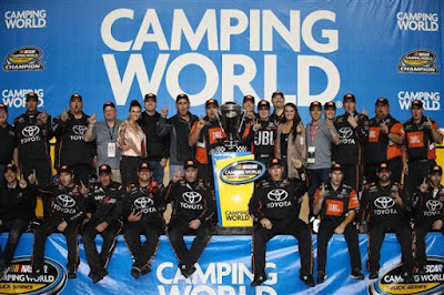 Christopher Bell Takes NASCAR Camping World Truck Series Title