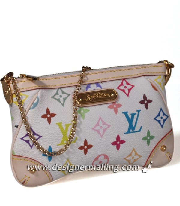 Each replica Louis Vuitton Monogram Multicolor Pochette Milla MM comes with Louis  Vuitton authentic receipt 7acdc44dc2abb