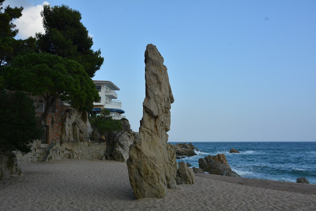 Platja D'aro rock formations