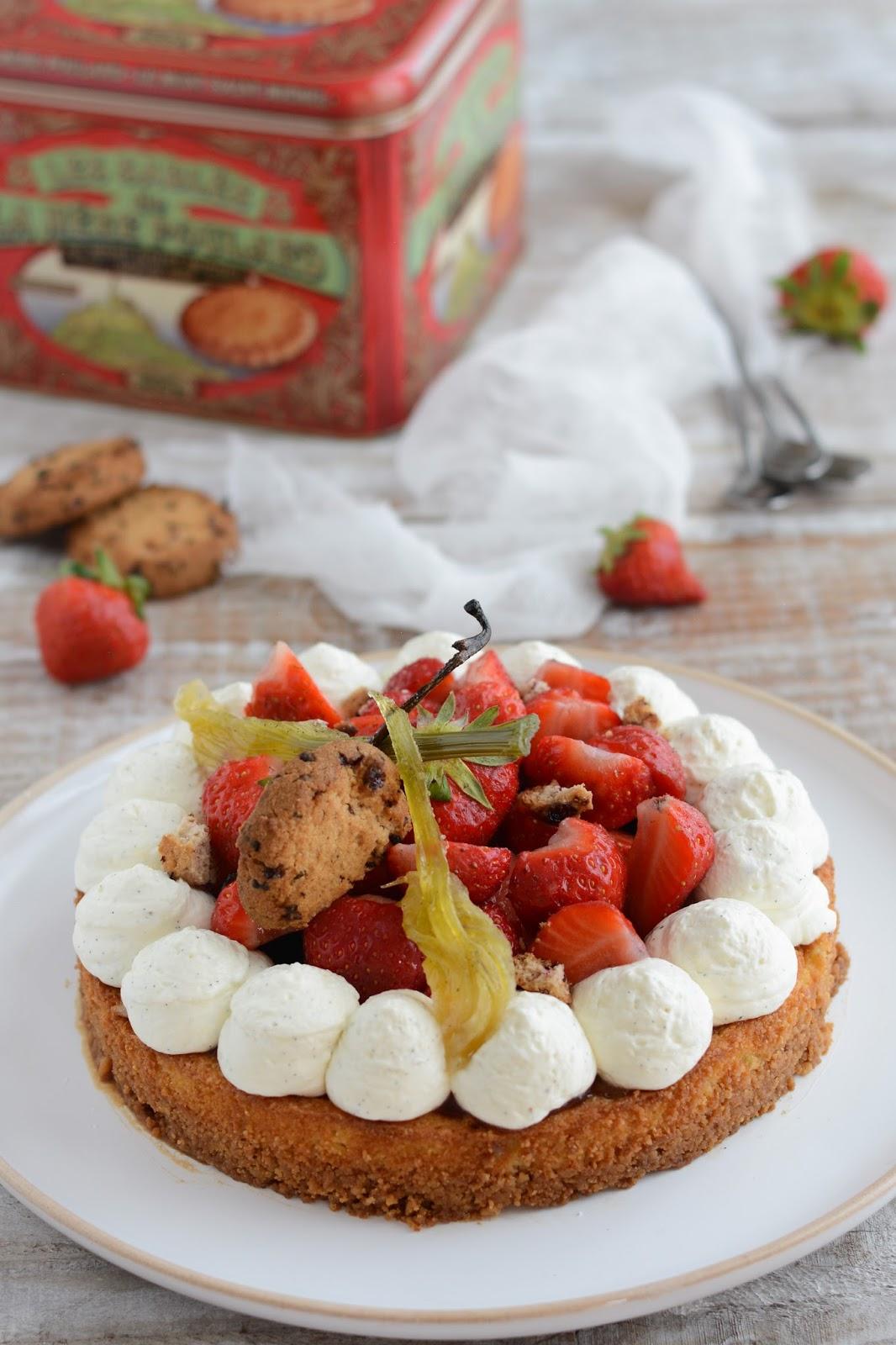 Chic chic chocolat tarte aux fraises et fenouil - Les saints de glace c est quand ...