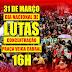Movimentos sociais convidam sociedade para protestos contra reformas de Temer.