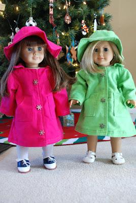 American girl doll raincoat pattern free