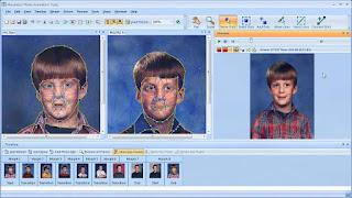 تنزيل برنامج تجميل الصور الشخصية والتلاعب بها Morpheus Photo Warper