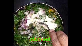 image of mixing all mixture