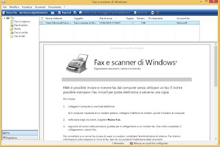 Programma Fax e scanner di Windows