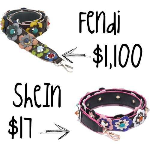 Fendi Strap Look for Less