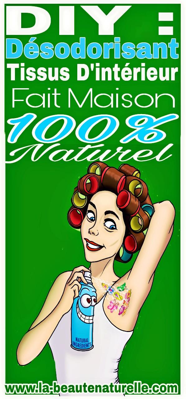 DIY : Désodorisant tissus d'intérieur fait maison 100% naturel