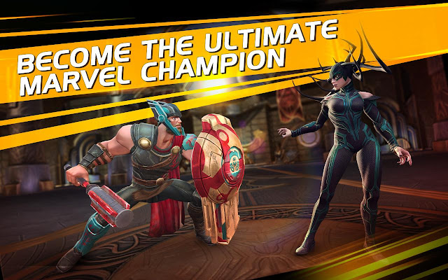 Tampilan Game MARVEL Contest of Champions