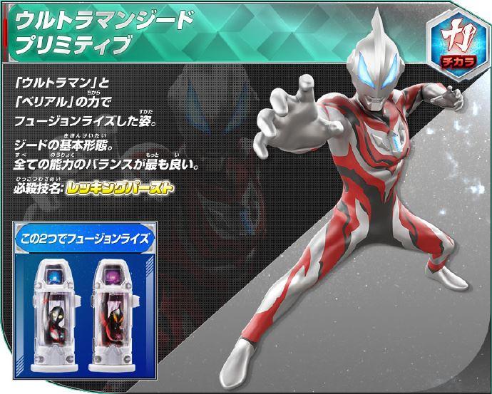 Ultraman Zero New Form Ultraman Geed - Rise-U...